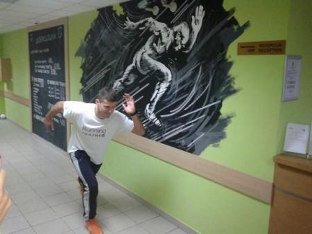 Ivan post o treningu ponedeljkom